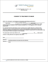 Consent to Treat Minor